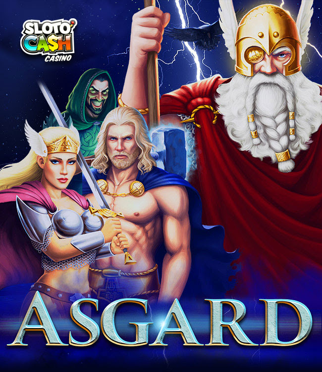 Farewell 2018 With Epic Wins  at Sloto Cash. 200% Match + 100 Free Spins for Asgard  on Top + 100 EXTRA FREE SPINS!