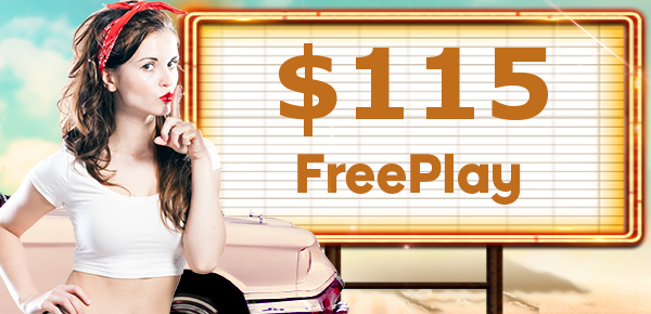The secret's out! You're getting 5 FreePlay at 777 Casino