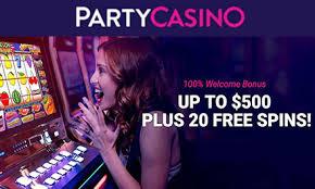 PartyCasino: Deposit £ get 120 Free Spins