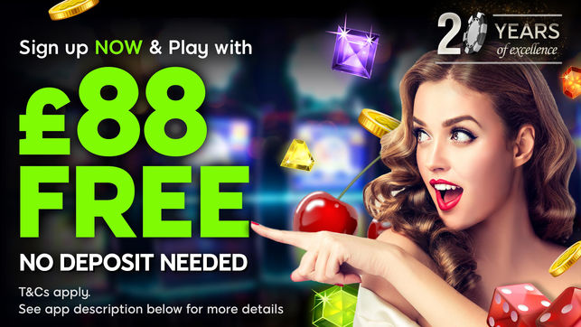 £115 Free Play at 888 Casino Online