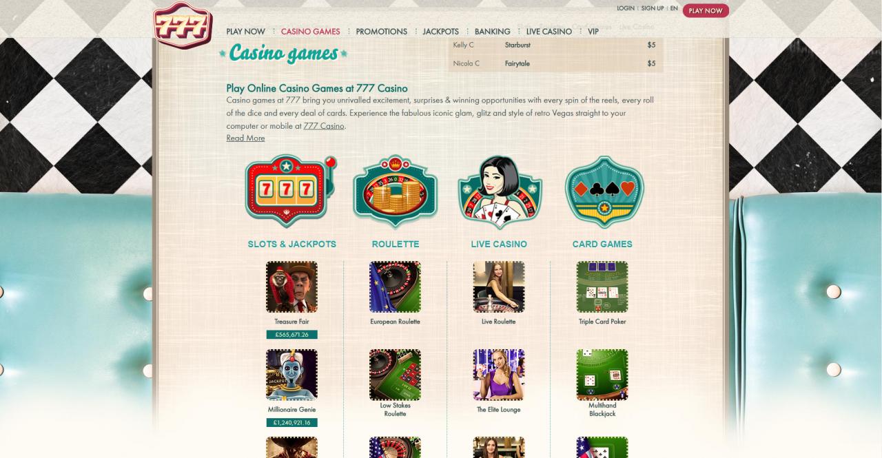 £21 No-Deposit Bonus – Instant FreePlay at 777 Casino Online!