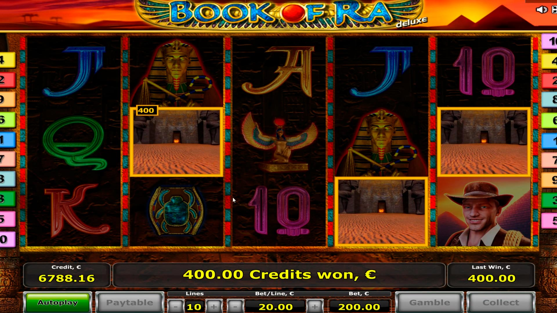 Book Of Ra Mega grande vittoria! 2 Bonus games - € 10.000 easy win!