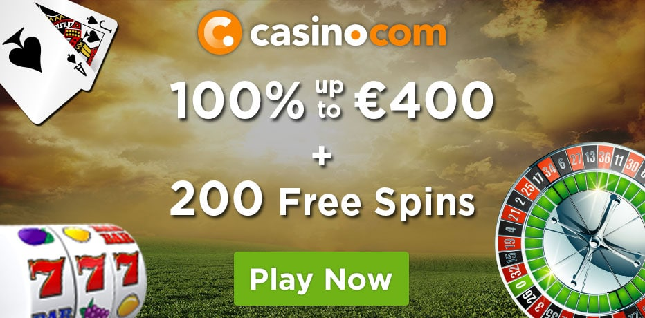 Welcome Package: 20 No Deposit Spins + a 100% up to £100 + 180 Bonus Spins on Age of the Gods at Casino.com