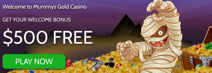 Mummy's Gold Casino bonus. Mummy's Gold Casino: 100% Bonus to 0!