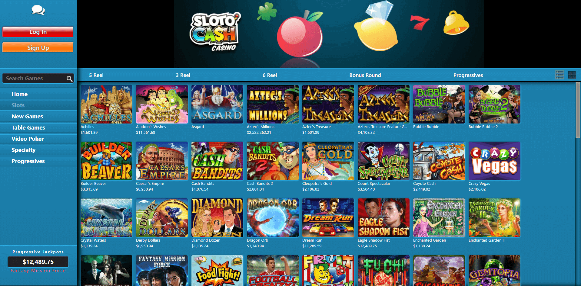 100 Free Spins at Sloto Cash Casino!