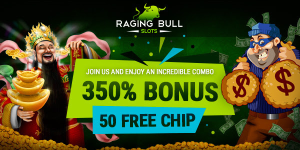 Raivoava sonni. 350% No Max Bonus + 50 Ilmaiskierros Raging Bull Casinolla. US Tervetuloa!