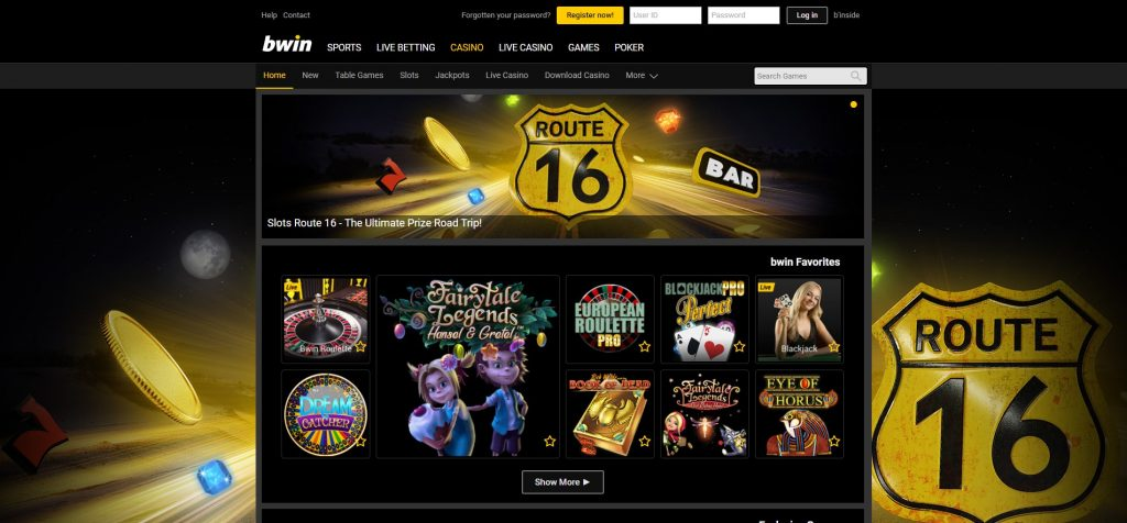 0 no deposit bonus from bWin Casino Online