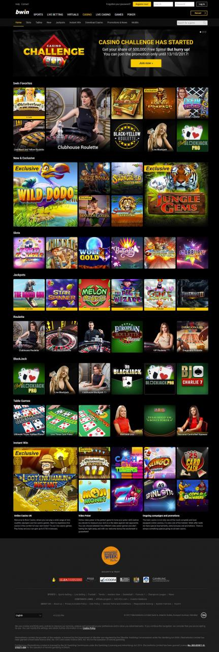 0 FreePlay on live dealer games at bWin Casino Online!