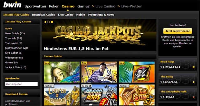 online slot casinos usa