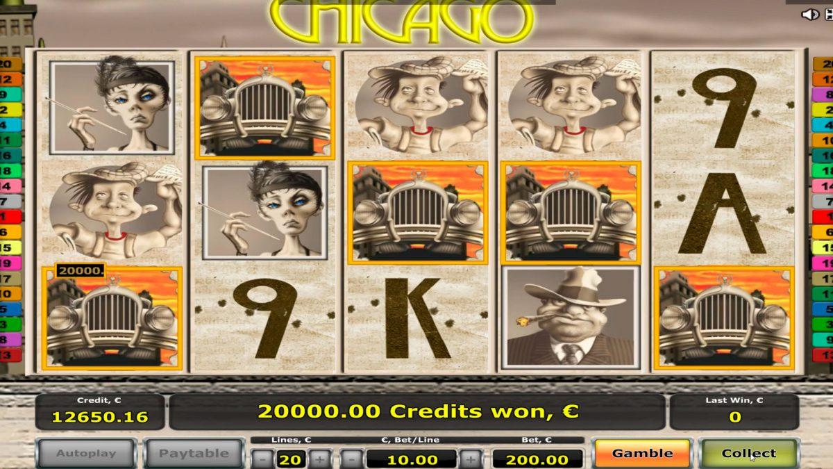 Chicago Casino Slots Stor Vinn - Vinn € 38,000 - 5 Scatters!