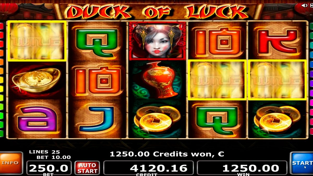 Duck of Luck vince grandemente € 18250