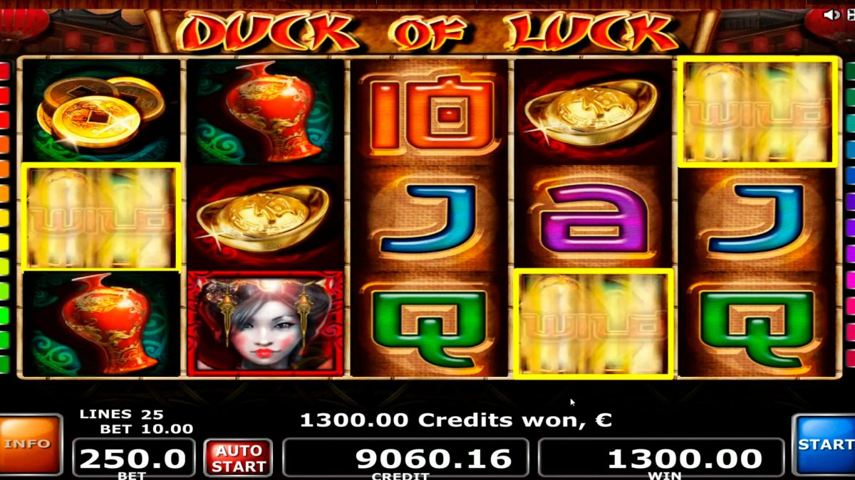 Duck of Luck Stor seier € 16.000