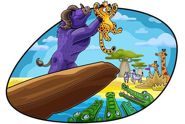 gambar promo. Meunang siap pikeun spin Safari liar! Pre-dileupaskeun Playson game awaits! freespins 20 di Mighty Afrika di Kasino-X!