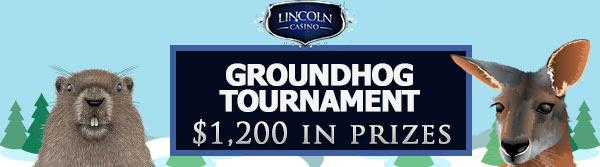 40 Free Spins + Ime turnira - Groundhog u Lincoln Casinu. USA Casino Igrači Prihvaćeni!