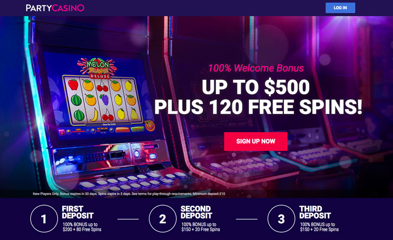 MEGA Party Casino Bonus 2019