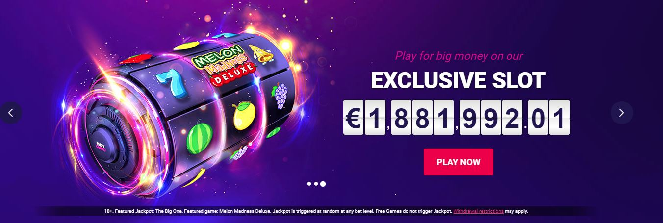 100% + 150 free spins from Party Casino