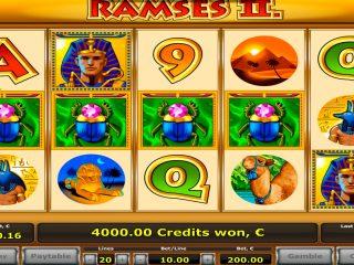 Ramses II - 2 เกมโบนัสพร้อมผู้ชนะใหญ่รับ€ 44.000