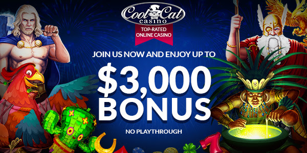 300% No Rules Bonus på Cool Cat Casino