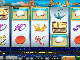 คาสิโนไซเรนทะเลชนะรางวัลใหญ่€ 40.000 เกมโบนัสพร้อมเรตติ้งเกอร์!