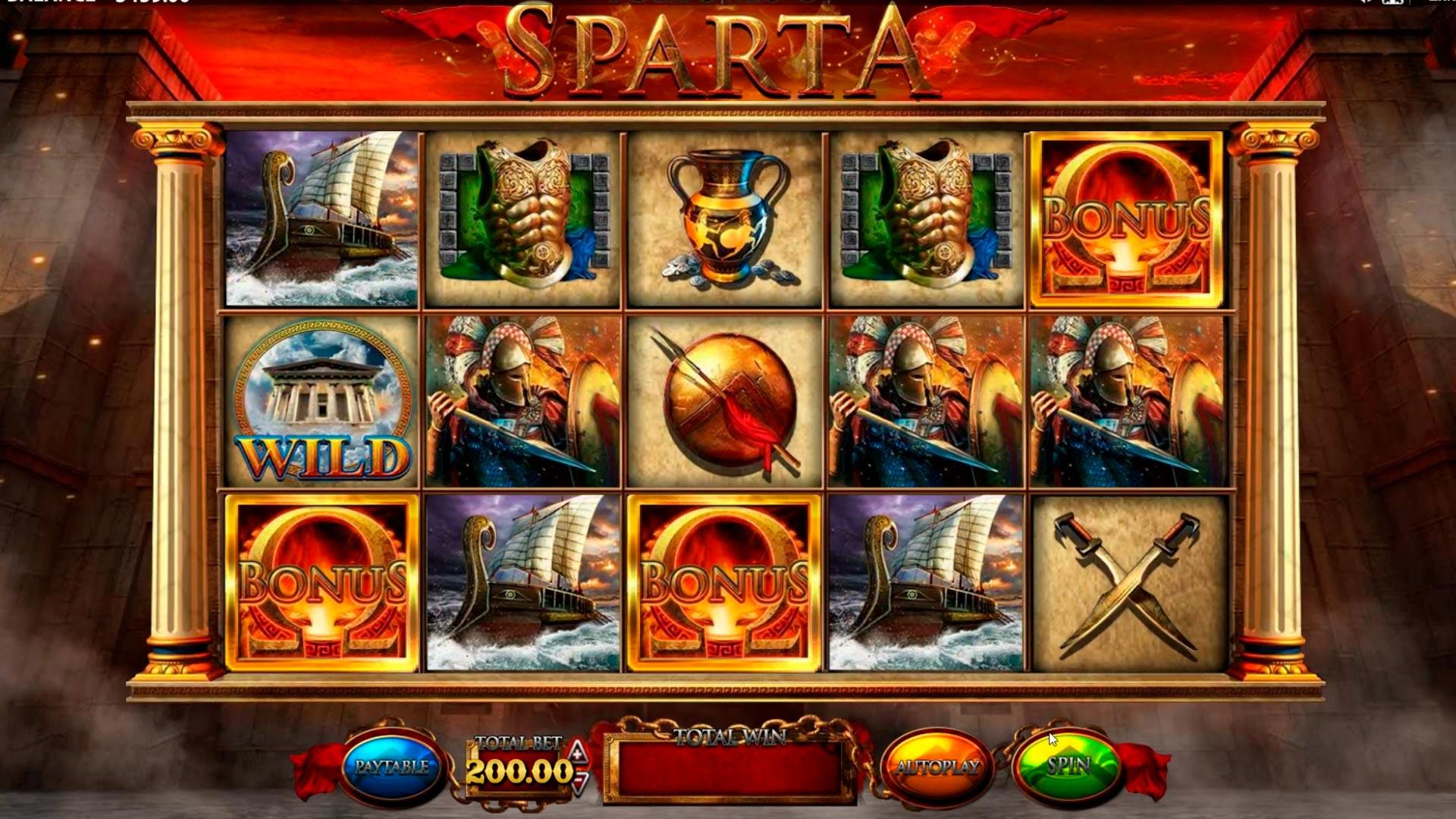 Grande vittoria dello slot del casinò Sparta - € 20.400
