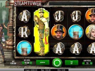 สล็อตคาสิโนบน Steam Tower ชนะใหญ่€ 23.000 พร้อมเกมโบนัส!