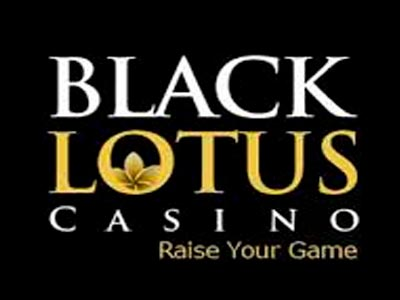 Imagine de ecran Black Lotus Casino