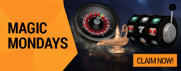 START THE WEEK WITH A BONUS at Gamebookers Casino Online!