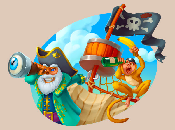 10 freespins i Pirates Charm at Joy Casino