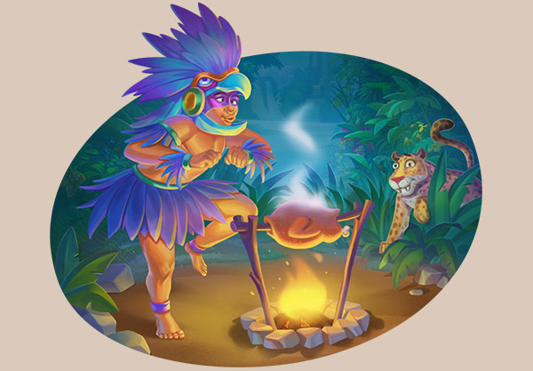20 freespins Mayan Magic Wildfire'is Joy Casino'is