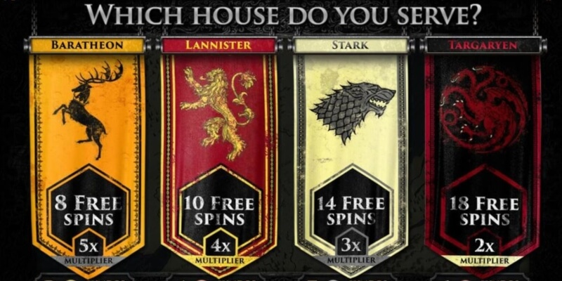 Game of Thrones Online Slot - Oplev Westeros med dette kasinospil!