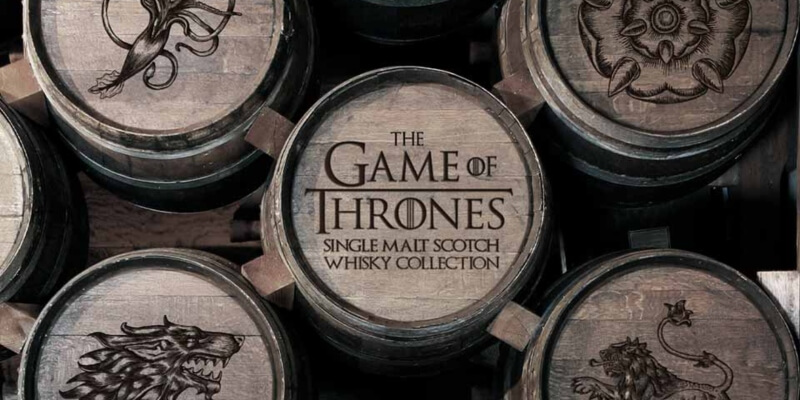 The Game Of Thrones Malt Whiskey Collection