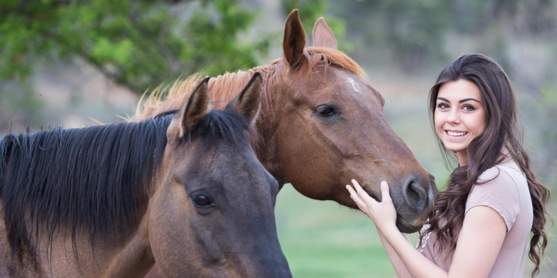 Equine Therapy Aiding Mental Health Patients