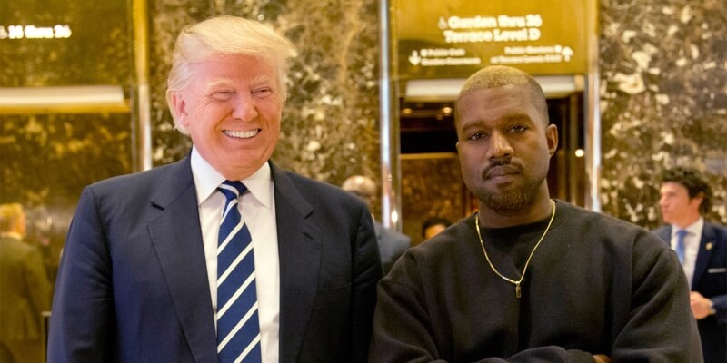 Kanye West Makes It To the White House
