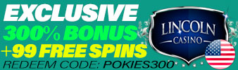 Oferta especial do Lincoln Casino!