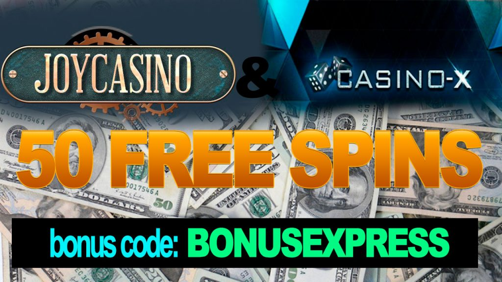 500 SPINS ZDARMA v Joy Casino & Casino-x