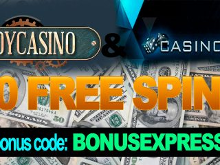 Bonus Casino Exclusif Pour X-Casino et Joy Casino. 50 FREE SPINS!