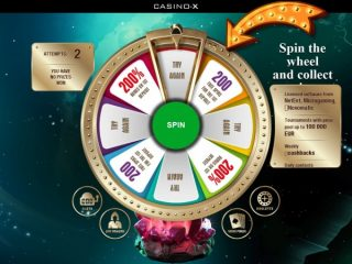 Spin d'Rad am Casino-X