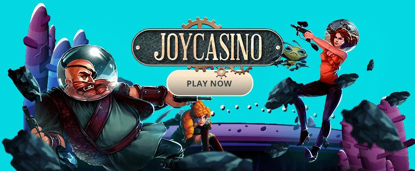 Joy Casino. Hanki bonus ja pelaa nyt!
