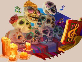 20 Freespins dans Esqueleto Explosivo