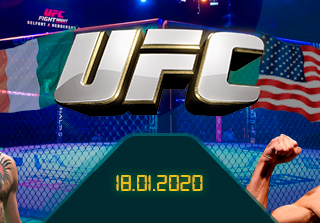 The Notorious vs. Cowboy: UFC 246 Main Event su 22Bet