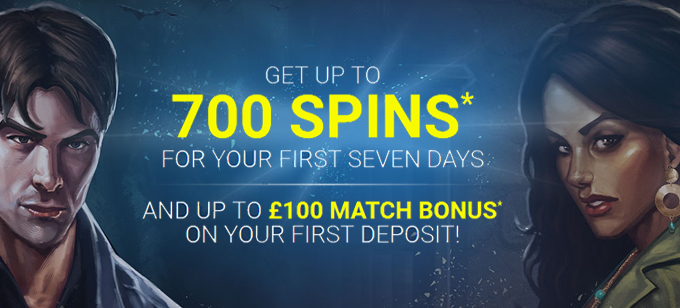 700 FREE SPINS