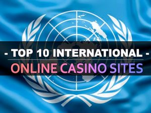 Top 10 internationale online casino sider
