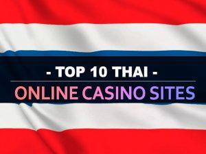 עשרת אתרי הקזינו המקוונים התאילנדים המובילים
