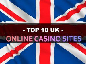 עשרת אתרי הקזינו המקוונים בבריטניה